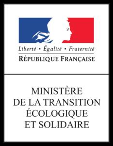 Logo Ministère de l'écologie - bac à marée - société TEO