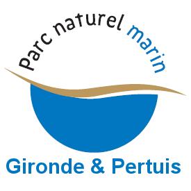 Logo parc naturel marin - bac à marée - société TEO